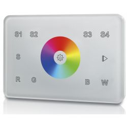 welegance rgbw z1 rf wifi wireless touch panel 1 zona italia 503 bianco en