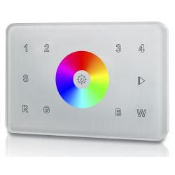 welegance rgbw z4 rf wifi wireless touch panel 4 zone italia 503 bianco en