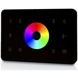 welegance rgbw z4 rf wifi wireless touch panel 4 zone italia 503 nero en