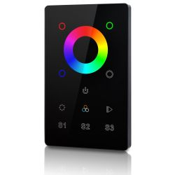 welegance rgbw z1 rf wifi wireless touch panel 1 zona america 503 nero en