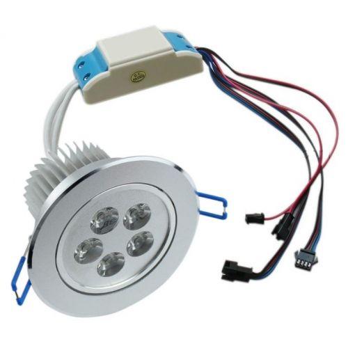 Rgbw led systems faretto incasso 15 watt multi color for Faretto led rgb