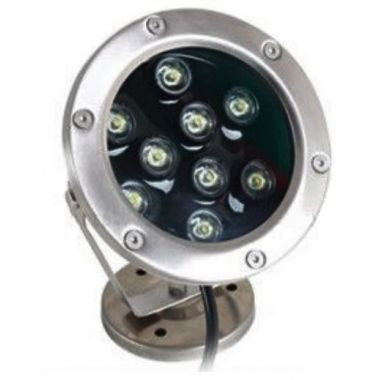 fountain flood led light rgb 20 watts dimmable pwm control dali z-wave knx dmx zegbee 12 24 volts
