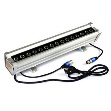wall washer flood led light rgb 40 50 watts dimmable control dmx512 110 220 volts