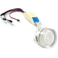 Faretto ad incasso LED RGB dimmerabile 15 watt controllo PWM 24 volt