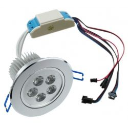 Faretto ad incasso LED RGBWA dimmerabile 50 watt controllo PWM 24 volt