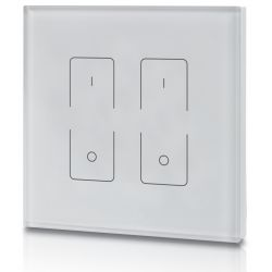 Touch panel Elegance Dimmer Z2 502 UK europa nero