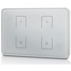 Touch panel Elegance Dimmer Z2 503 Italia wall panel 2 zone