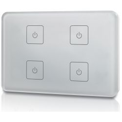 Touch panel led Elegance Dimmer Z4 503 Italia 4 zone bianco