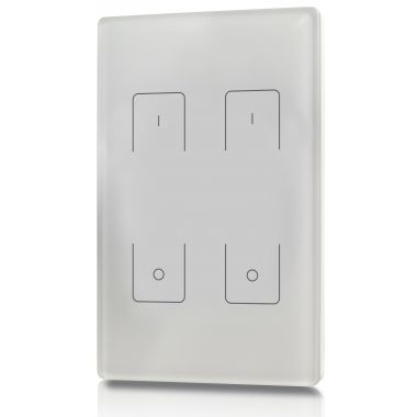welegance z2 rf rgbw led systems touch panel dimmer muro 2 zone 503 america mexico bianco