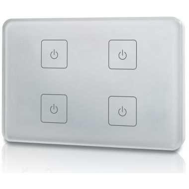 welegance z4 rf rgbw led systems touch panel dimmer muro 4 zone 503 italia bianco