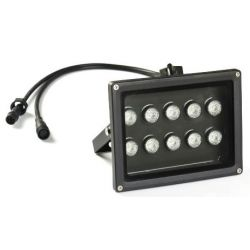 flood led light dimmable 100 watts PWM control dali z-wave knx dmx zegbee 24 volts
