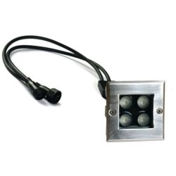 underground flood led light rgb 10 15 watts dimmable pwm control dali z-wave knx dmx zegbee 24 volts
