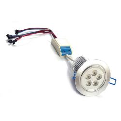 Faretto ad incasso LED RGBW dimmerabile 40 watt controllo PWM 24 volt