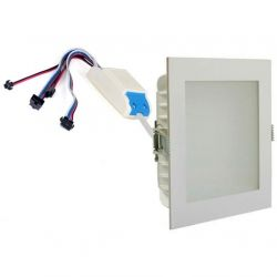 frt rgbw 48w s panel light spotlight recessed led ceiling 40 50 watt pwm 24 volt high power chromotherapy